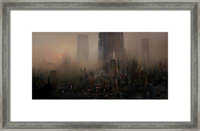 Utherworlds Cohabitations Framed Print
