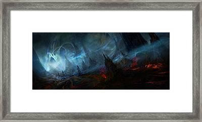 Utherworlds Nightmist Framed Print