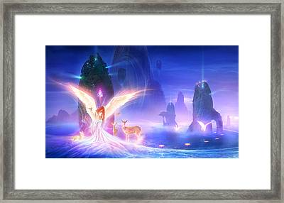 Utherworlds Ooulana Framed Print by Philip Straub