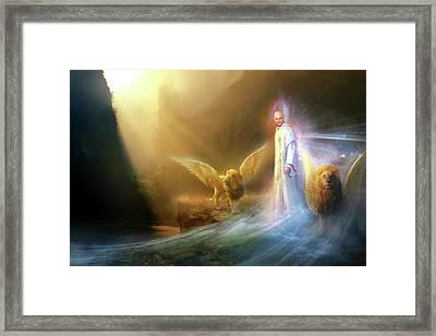 Utherworlds Rohyana Framed Print by Philip Straub