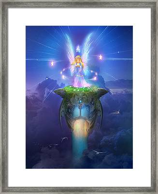 Utherworlds Stargazer Framed Print by Philip Straub