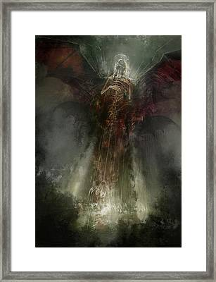 Utherworlds The Clouding Framed Print