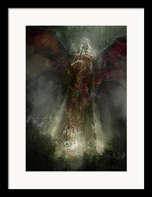 Nightmare Realm Framed Prints