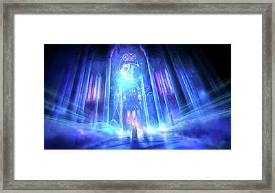 Utherworlds The Language Of Truth Framed Print by Philip Straub