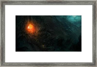 Utherworlds Threads Of Kirillia Framed Print by Philip Straub
