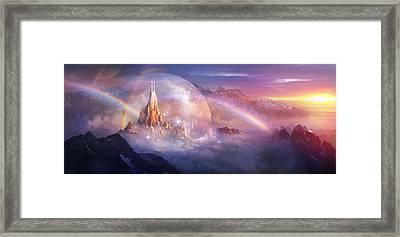 Utherworlds Unohla Framed Print by Philip Straub