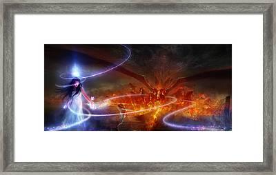 Utherworlds Waking Dream Framed Print