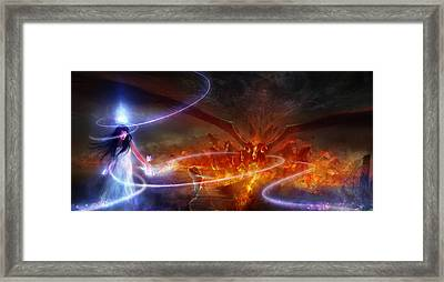 Utherworlds Waking Dream Framed Print by Philip Straub