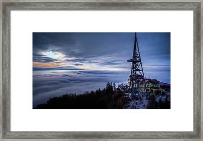 Uto Kulm Framed Print
