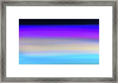 Uv Dawn Framed Print