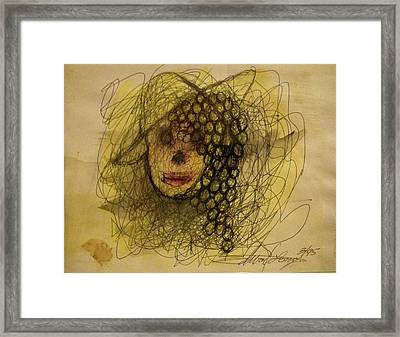 Uva Queen Of The Grapes Framed Print