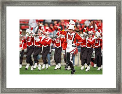 Uw Drum Major Framed Print by Todd Klassy