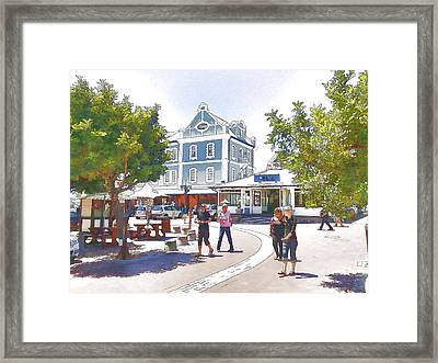 V And A Waterfront Cape Town Framed Print by Jan Hattingh