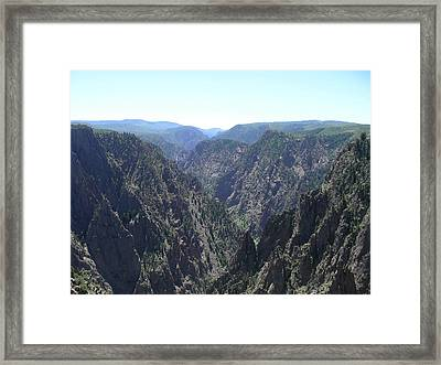 V By Nature Framed Print by Peter  McIntosh