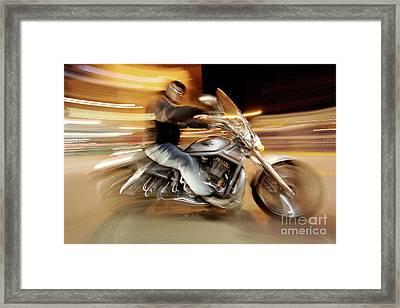 V Rod Framed Print