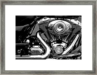 V Twin Framed Print