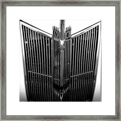 V8 Framed Print by Audrey Venute