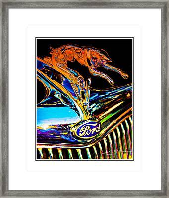 V8 Framed Print by John Breen