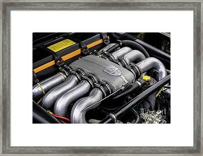 V8 Porsche Framed Print