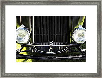 V8 Framed Print by Tim Gainey