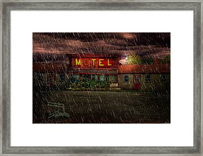Vacancy Framed Print by Tom Mc Nemar
