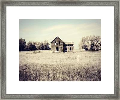 Vacant Home Framed Print by Julie Hamilton