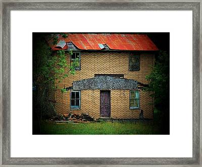 Vacant House Framed Print by Michael L Kimble