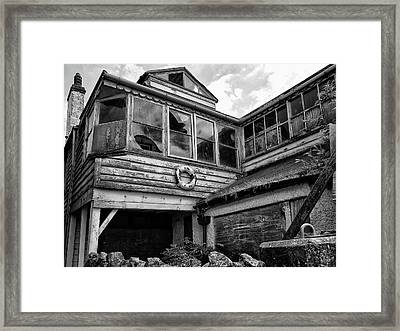 Vacant Possession Framed Print by Philip Openshaw
