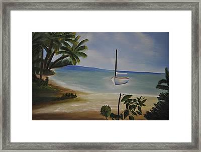 Vacation Framed Print by Albert Douglas