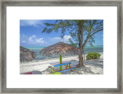 Vacation In The Air Framed Print