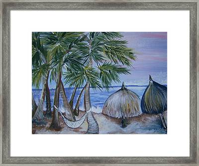 Vacation Framed Print by Leslie Manley