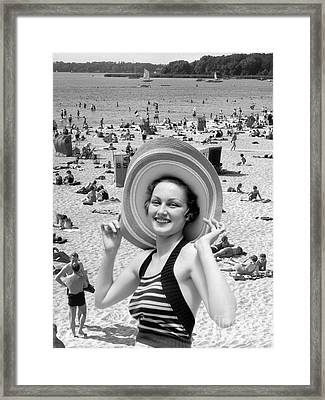 Vacation Montage, C.1930s Framed Print by H. Armstrong Roberts/ClassicStock