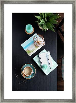Vacation Plans By Svetlana Imagineisle Svphoto Framed Print by Svetlana Imagineisle