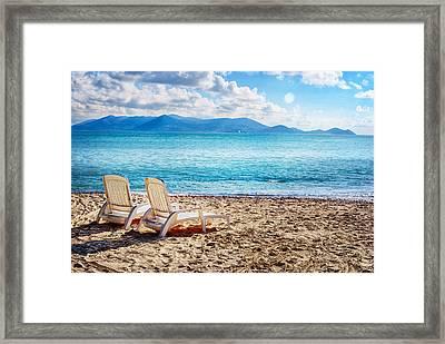Vacation Spot Framed Print