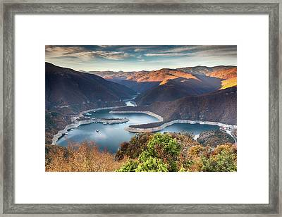 Vacha Lake Framed Print by Evgeni Dinev
