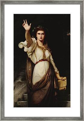 Vae Victoribus Woe To The Victors Framed Print by Charles Zacharie