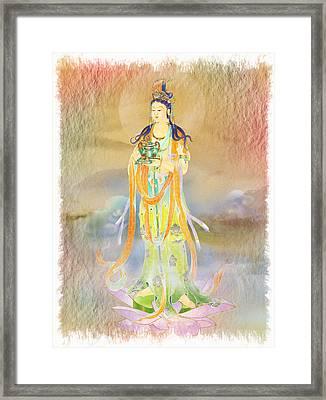 Vaidurya  Kuan Yin 1 Framed Print