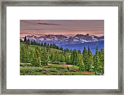 Vail View Framed Print by Scott Mahon
