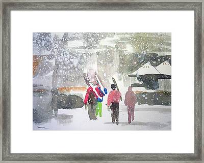 Vail,colorado  Framed Print