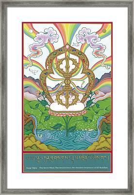 Vajra Framed Print by Carmen Mensink