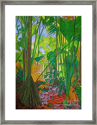Val De Endore Framed Print by Michaela Bautz