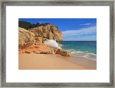 Vale De Centeanes Framed Print by Carl Whitfield