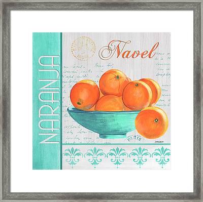 Valencia 3 Framed Print by Debbie DeWitt