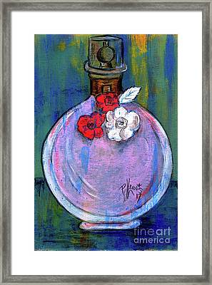 Framed Print featuring the painting Valentina by P J Lewis