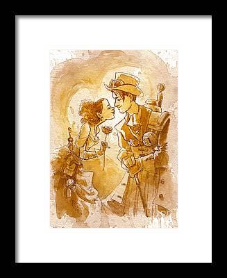 Love Framed Prints