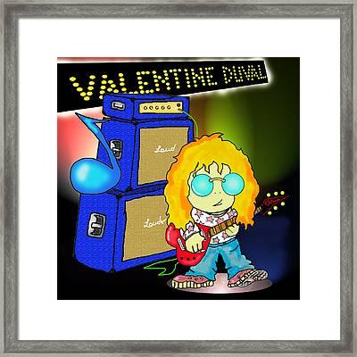 Valentine Duval Framed Print