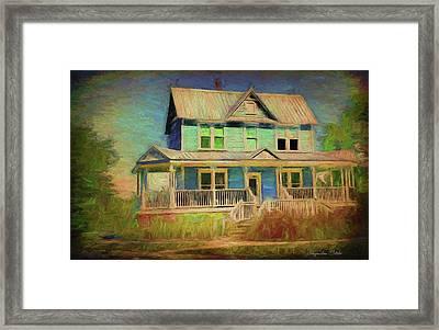 Valentine House Framed Print