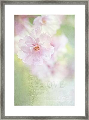 Valentine Love Framed Print