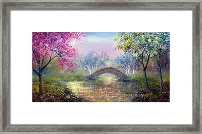 Valentine Song Framed Print by Ann Marie Bone