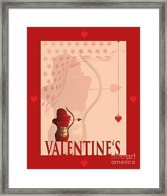 Yes Valentine M20 Framed Print